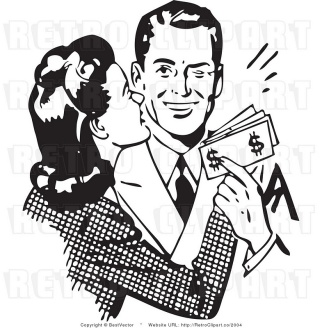royalty-free-vector-clip-art-of-a-black-and-white-affectionate-wife-embracing-her-wealthy-husband-as-he-holds-cash-money-and-winks-by-bestvector-2004